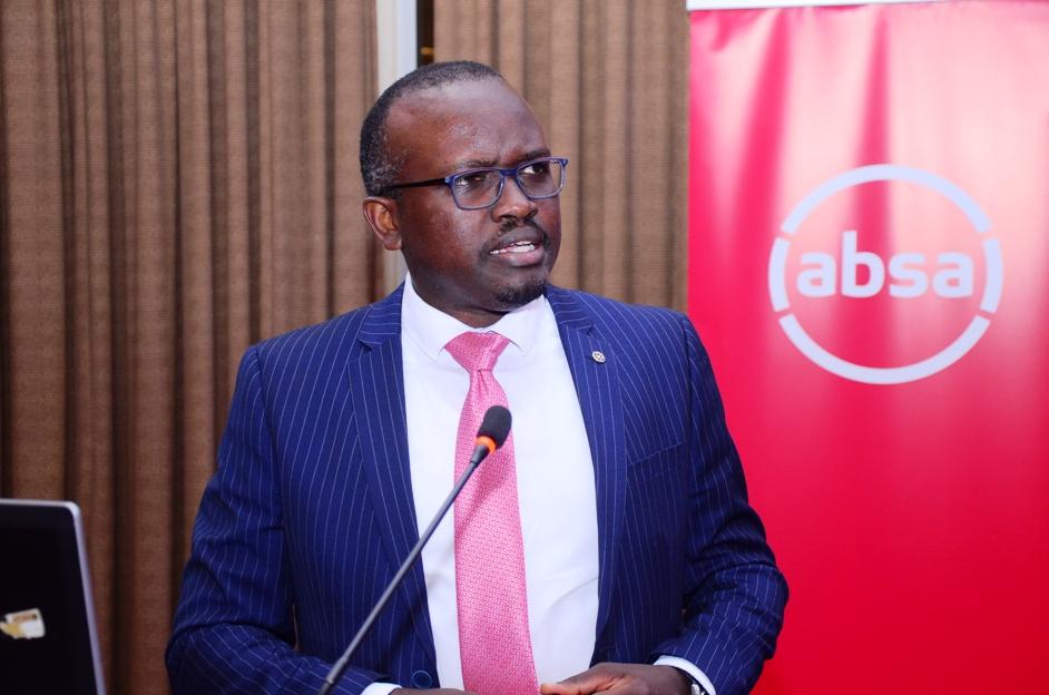 David Wandera, the Absa Bank Uganda Head of Financial Markets