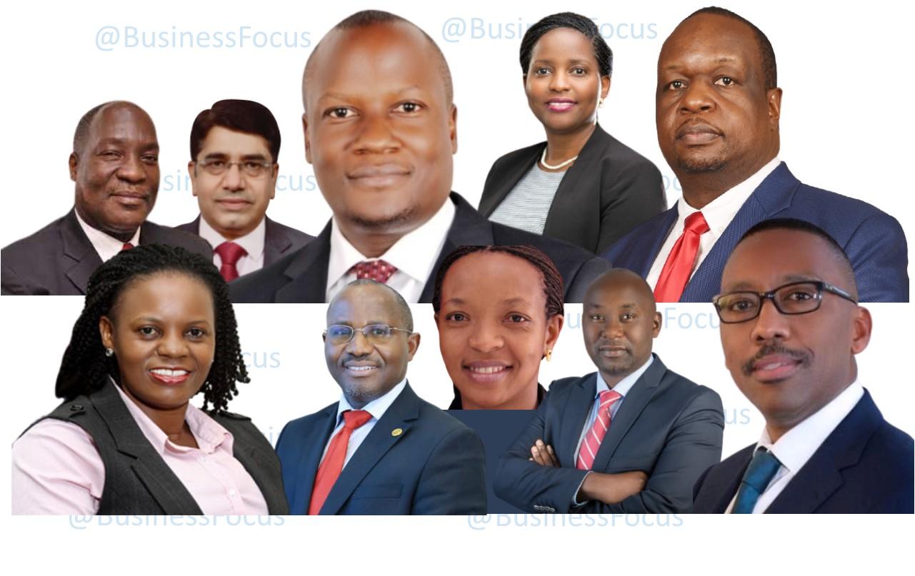 Top bank CEOs in Uganda