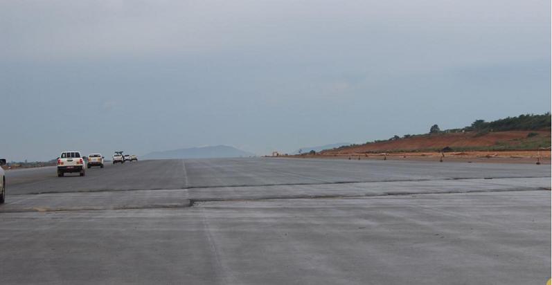 Hoima International Airport runway
